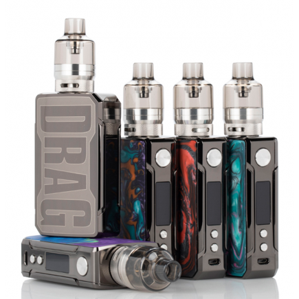 VOOPOO Drag 2 Refresh 177W TC Kit with PNP Tank