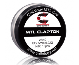 Coilology MTL Clapton coil Ni80 0.92ohm