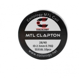 Coilology MTL Clapton coil SS316L 0.7ohm