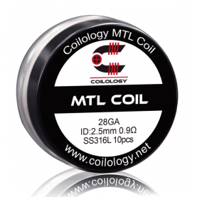 Coilology MTL coil SS316L 0.9ohm