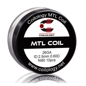 Coilology MTL coil Ni80 0.6ohm