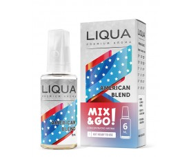 AMERICAN BLEND 60ML MIX & GO (ΚΑΠΝΙΚΟ) BY LIQUA