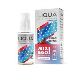 AMERICAN BLEND 30ML MIX & GO (ΚΑΠΝΙΚΟ) BY LIQUA