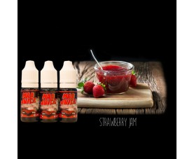 Mad Juice Strawberry Jam 3*10ml