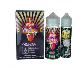 Mafia Coffee 20ml(120ml) + 65ml Bάση VG 0mg - Mad Lady