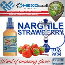 Natura - Narghile Strawberry (Mix Shake Vape)