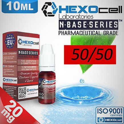 HEXOCELL nBASE 50/50 VG/PG 10ML 20mg