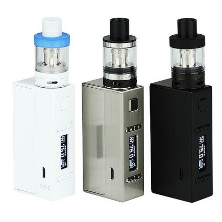 Aspire EVO75 Kit W Atlantis EVO Tank And NX75 MOD