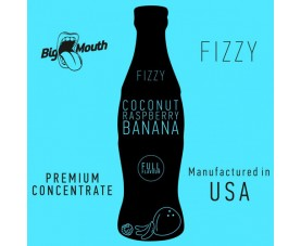 Big Mouth FIZZY – Coconut Raspberry Banana