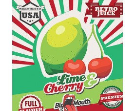 Retro Juice - LIME & CHERRY