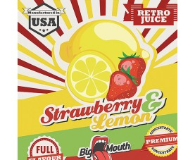 Retro Juice - STRAWBERRY & LEMON